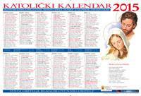 Katolički kalendar 2015.