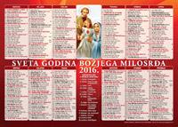 Katolički kalendar 2016.