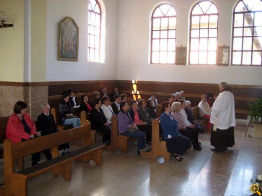 Prva skupština Franjevačkog svjetovnog reda župe Brestovsko održana 21. travnja 2013.